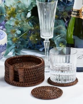 Cognac glasunderlägg rotting 4
