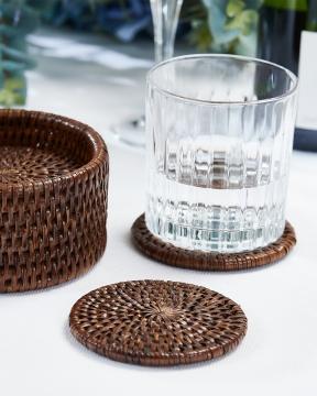 Cognac glasunderlägg rotting 2