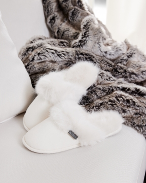 Aspen slippers vit 1