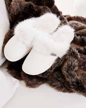 Aspen slippers vit 2