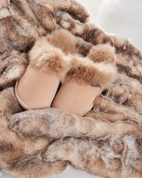 Aspen slippers beige 1
