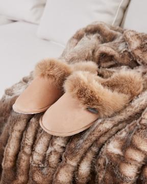 Aspen slippers beige 4