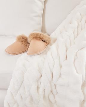 Aspen slippers beige 5