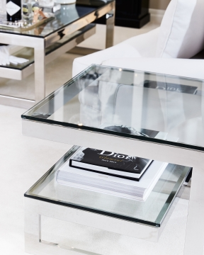 Gamma sidobord silver OUTLET 2