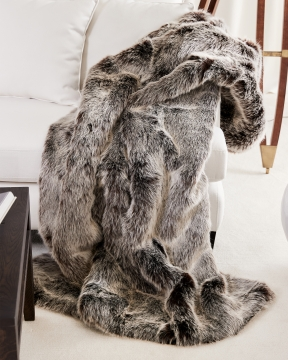 St. Moritz pläd timber wolf 3