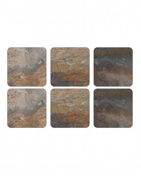 Earth Slate glasunderlägg 1