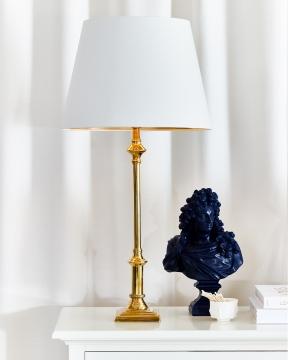 Louis XIV vaxbyst blå 2