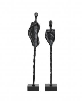 La Coppia statyer svart 1