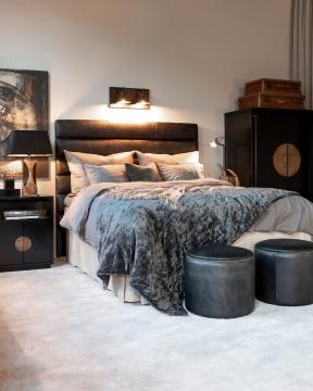 Avorio Corno dekoration brun/svart 1