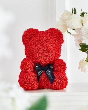 Rosalin rosbjörn röd M 1