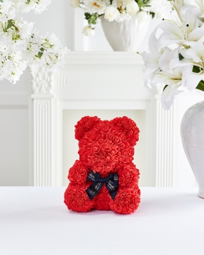 Rosalin rosbjörn röd M 2