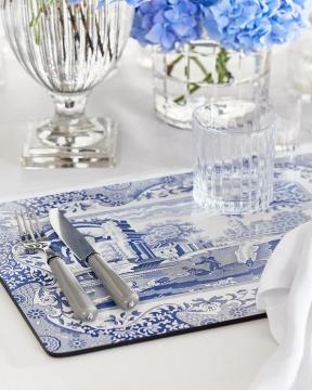 Blue Italian bordsunderlägg 5