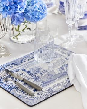 Blue Italian bordsunderlägg 1