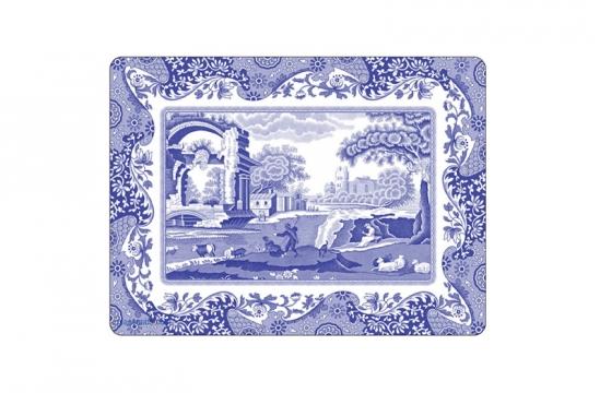 Blue Italian bordsunderlägg 4-pack 2