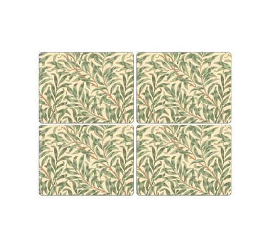 Placemat-spode-morris-green-lista