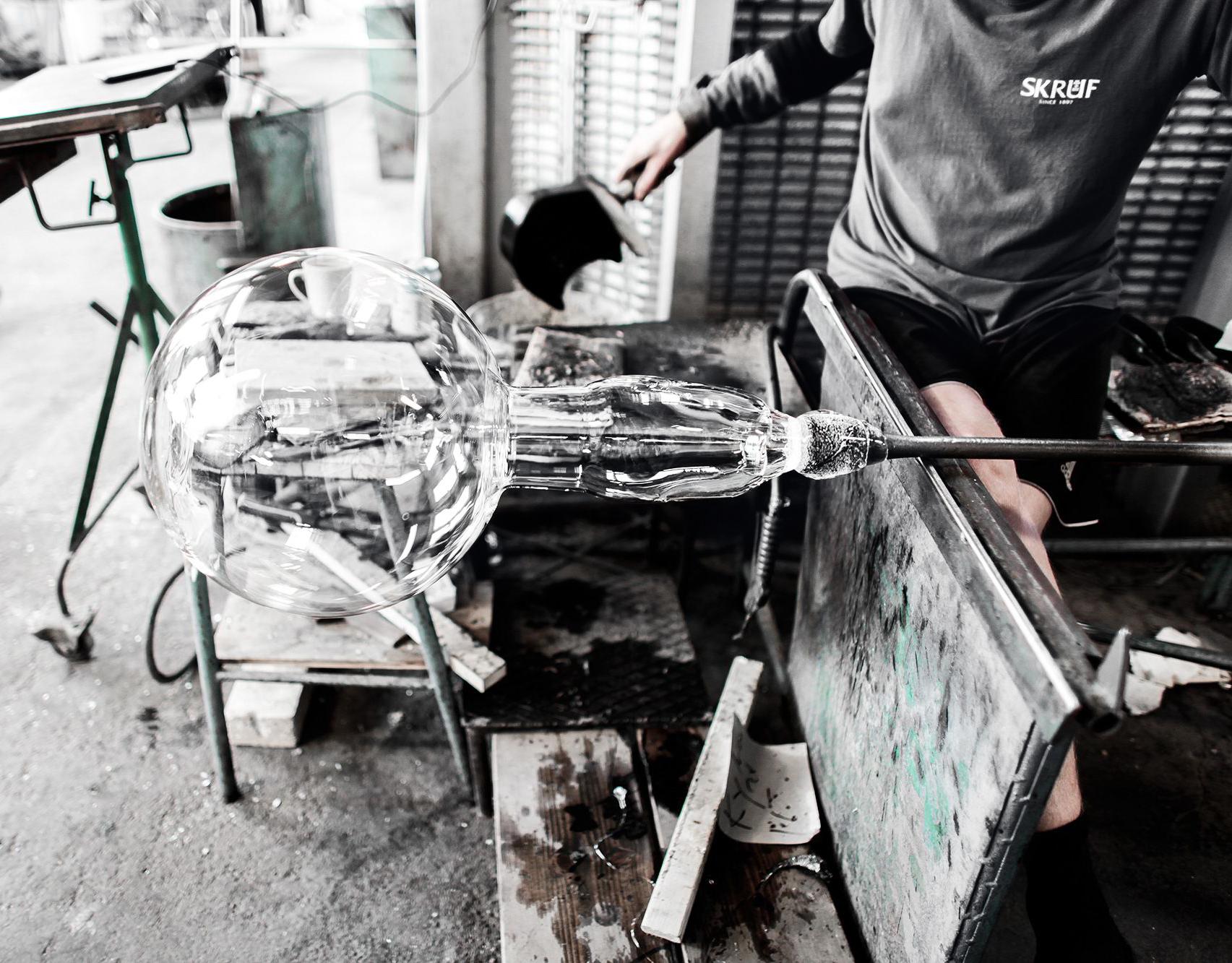 Skrufglas-verkstad