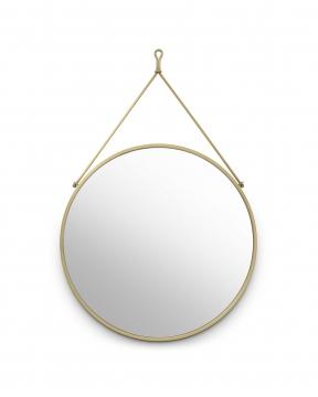 Morongo spegel mässing 1