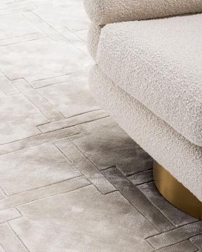 La Belle matta grå 3