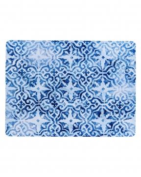 Portofino bordsunderlägg blå/vit 3