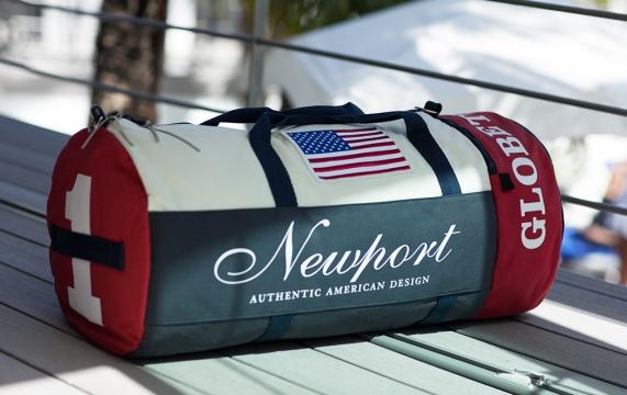 Newport weekend bag peach tree 3