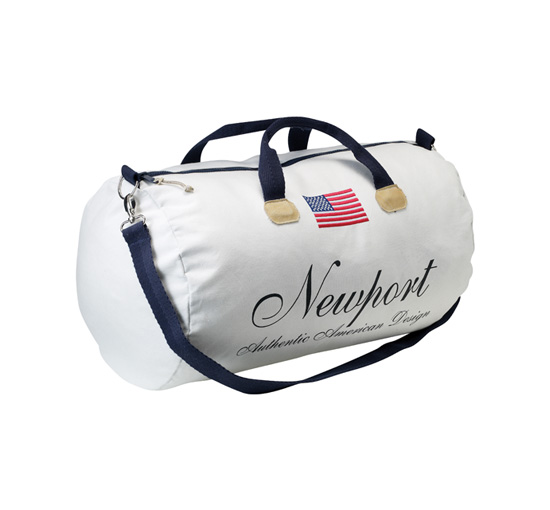 Newport weekendbag cypress point vit