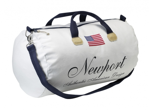 Newport weekendbag cypress point vit 2