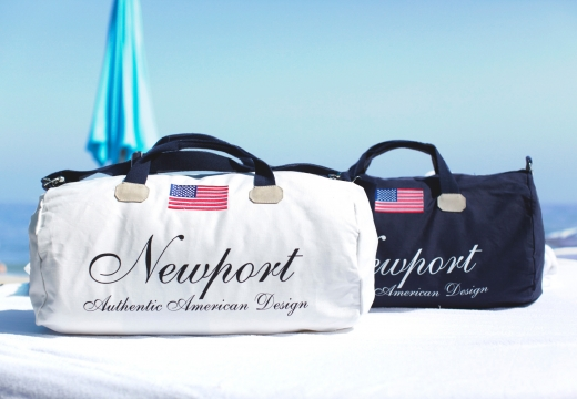 Newport weekendbag cypress point vit 3