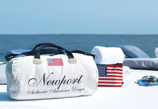 Newport weekendbag cypress point vit 4