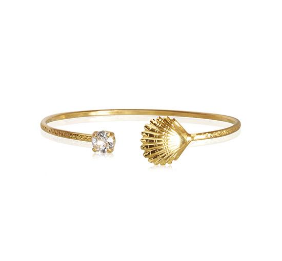 Shell armband crystal