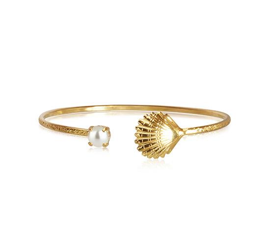 Shell armband pearl