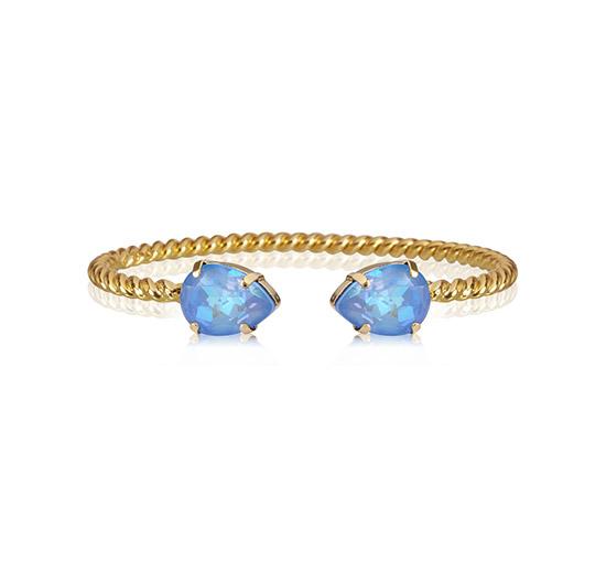 Mini Drop armband ocean blue delite