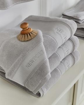 Mayfair handduk grå 1