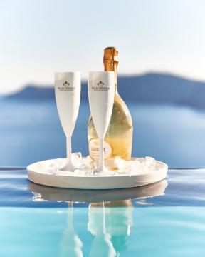 Champagneglas vit 4-pack 2