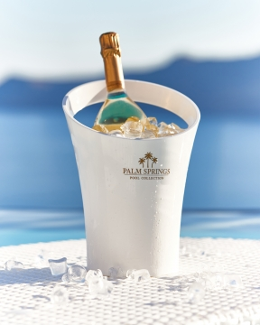 Champagnekylare vit 1