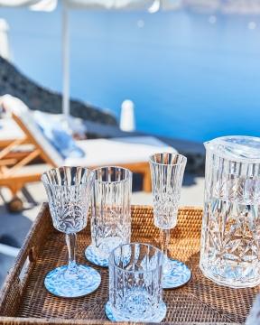 Caprice champagneglas akryl 4