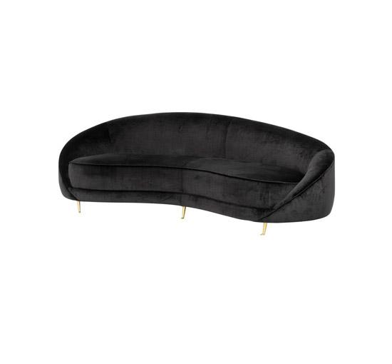 Esmeralda soffa bolard svart OUTLET