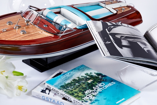 Riva Aquarama Blue White 4