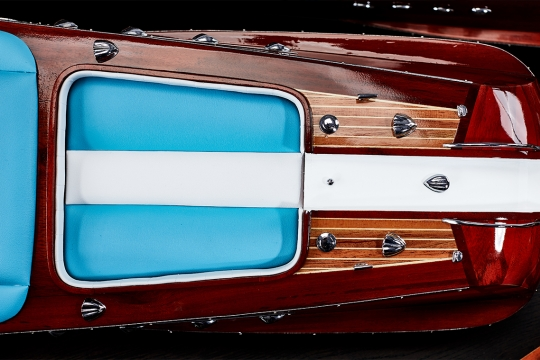 Riva Aquarama Blue White 6
