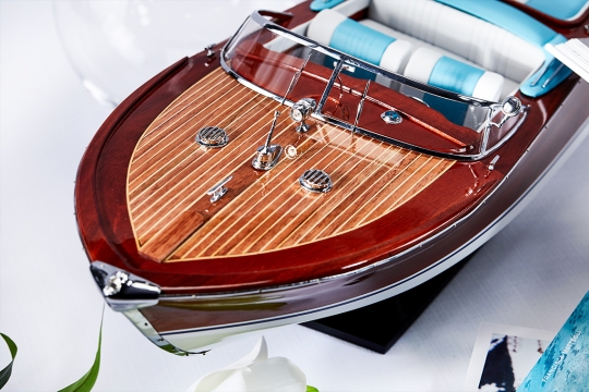 Riva Aquarama Blue White 5