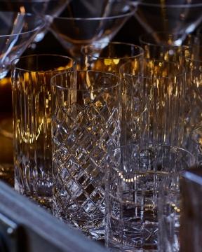 JFK highballglas kristall 6-pack 1