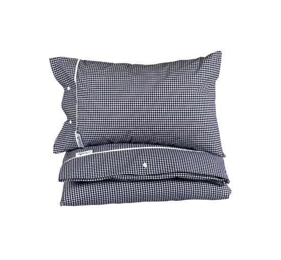 Newport bäddset boston-gingham-blue 1