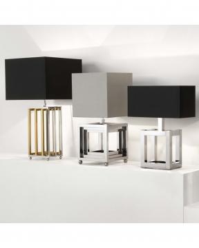 Bellagio bordslampa nickel 2