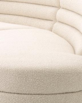 Lennox soffa bouclé cream 5