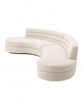Lennox soffa bouclé cream 3