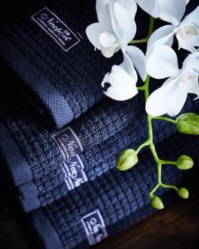 Fisher Island handdukar blå 2
