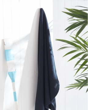 Fisher Island handdukar blå 5