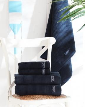 Fisher Island handdukar blå 1