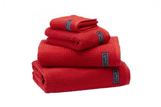 Fisher Island handdukar röd 3