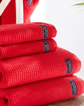 Fisher Island handdukar röd 6