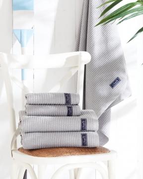 Fisher Island handdukar grå 1